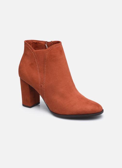 Bottines et boots Tamaris Mindy Rouge vue détail/paire