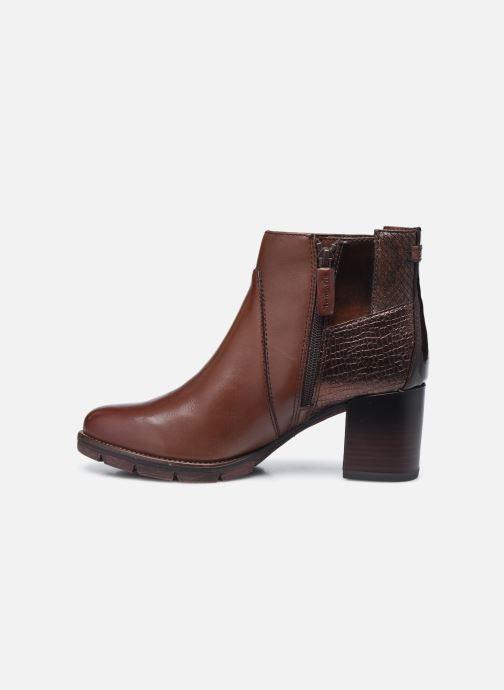 Bottines et boots Tamaris Gisele Marron vue face