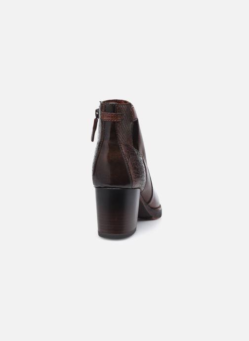 Bottines et boots Tamaris Gisele Marron vue droite