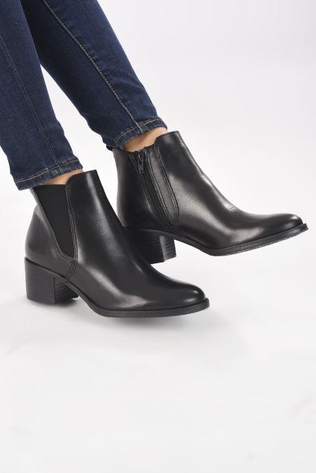 Bottines et boots Tamaris Senuita Noir vue bas / vue portée sac
