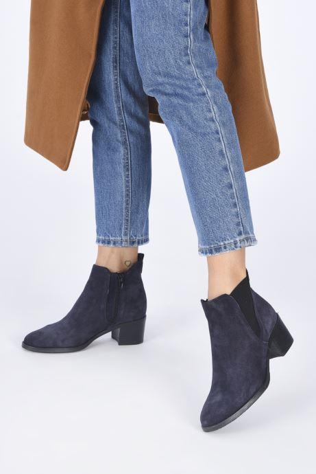 Bottines et boots Tamaris Senuita Bleu vue bas / vue portée sac