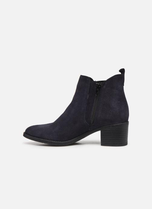 Bottines et boots Tamaris Senuita Bleu vue face