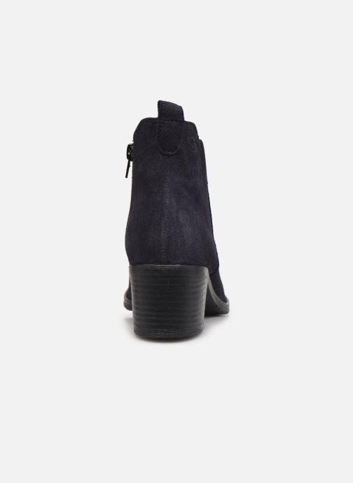 Bottines et boots Tamaris Senuita Bleu vue droite