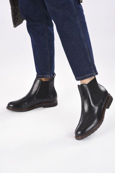 Bottines et boots Tamaris Cosima Noir vue bas / vue portée sac
