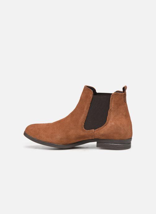 Bottines et boots Tamaris Nuama Marron vue face