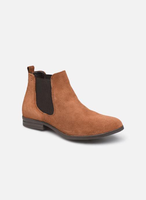 Bottines et boots Tamaris Nuama Marron vue détail/paire