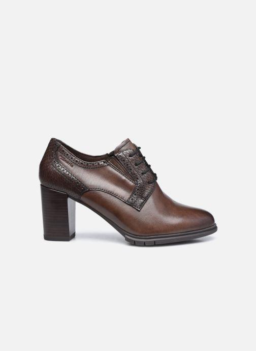 Zapatos con cordones Tamaris Kim Marrón vistra trasera