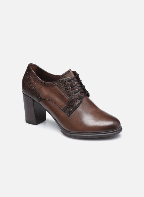 Zapatos con cordones Tamaris Kim Marrón vista de detalle / par