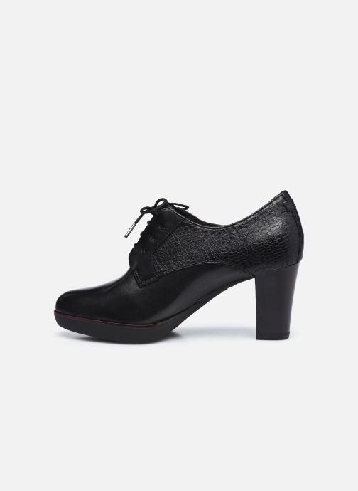 Zapatos con cordones Tamaris Kuba Negro vista de frente