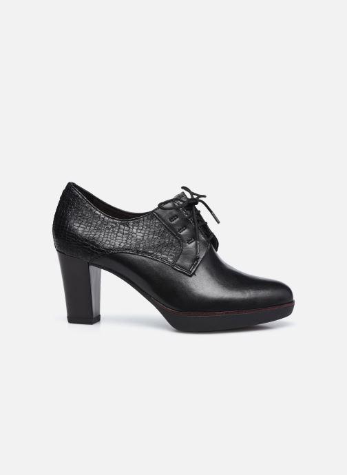 Zapatos con cordones Tamaris Kuba Negro vistra trasera