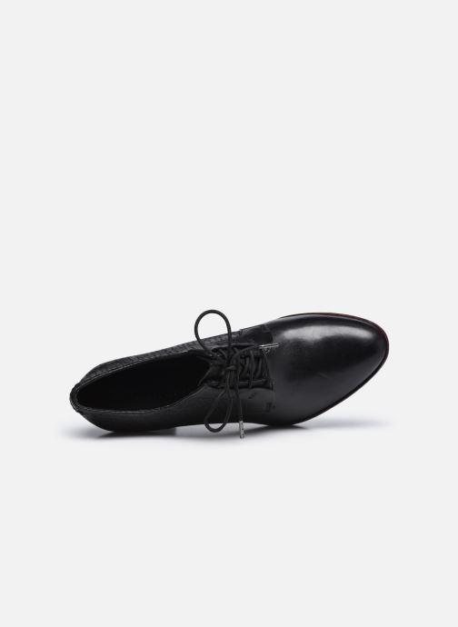 Zapatos con cordones Tamaris Kuba Negro vista lateral izquierda