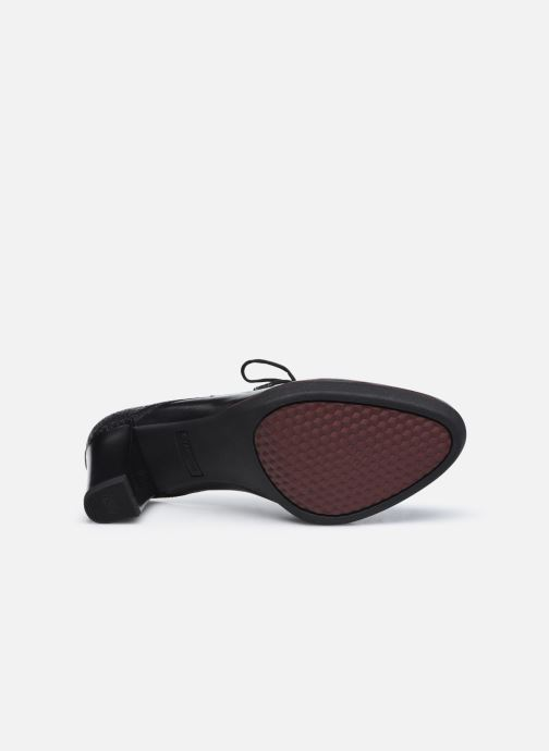 Zapatos con cordones Tamaris Kuba Negro vista de arriba
