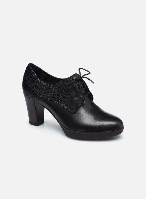 Zapatos con cordones Tamaris Kuba Negro vista de detalle / par