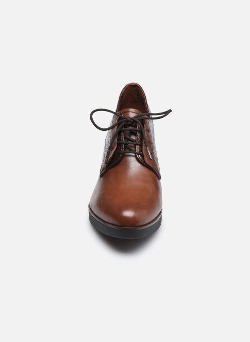 Chaussures à lacets Tamaris Kuba Marron vue portées chaussures