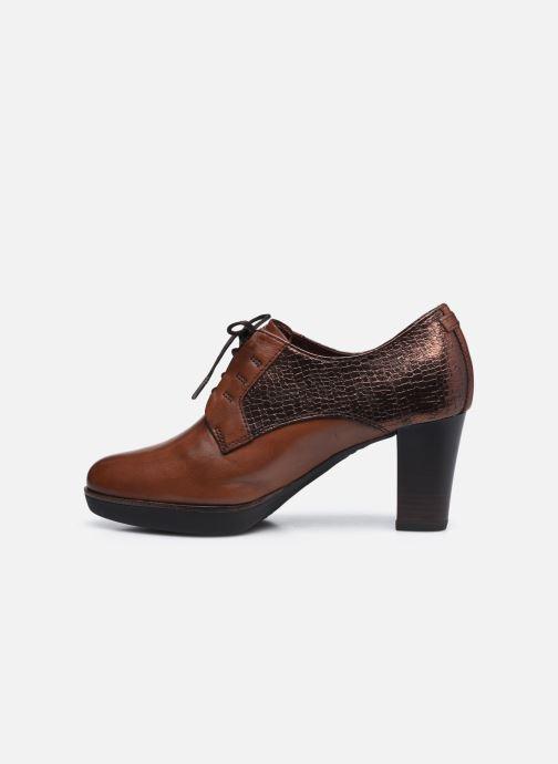 Chaussures à lacets Tamaris Kuba Marron vue face