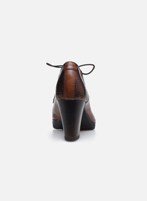 Chaussures à lacets Tamaris Kuba Marron vue droite
