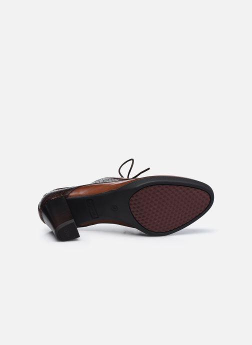 Chaussures à lacets Tamaris Kuba Marron vue haut