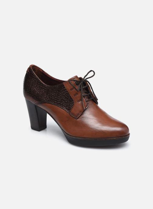 Chaussures à lacets Tamaris Kuba Marron vue détail/paire
