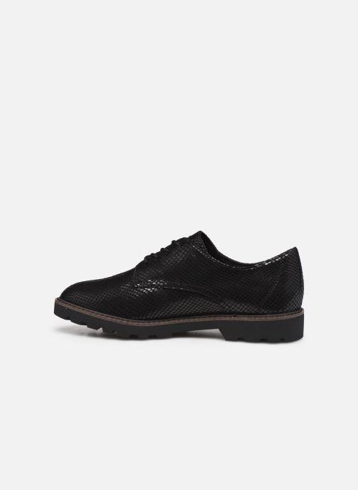 Chaussures à lacets Tamaris Flavia Noir vue face