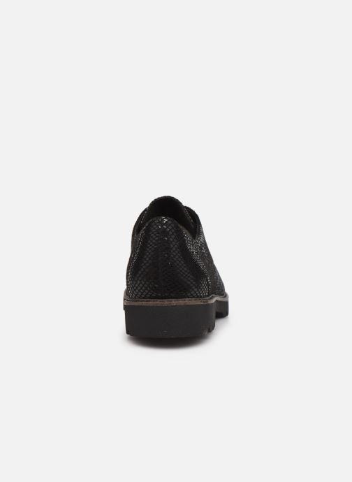 Chaussures à lacets Tamaris Flavia Noir vue droite