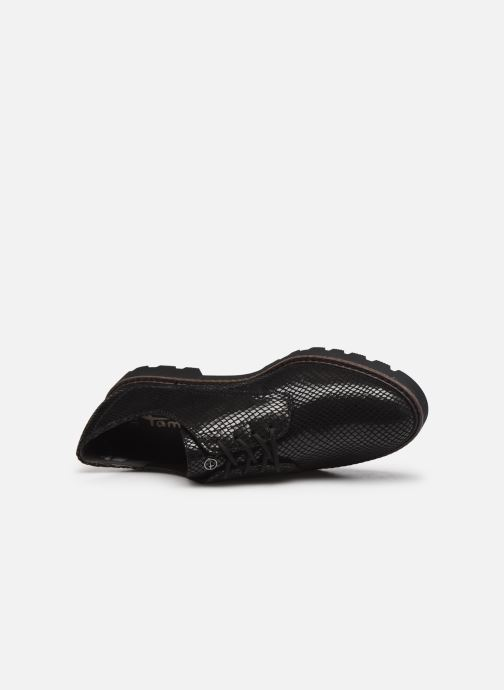 Chaussures à lacets Tamaris Flavia Noir vue gauche