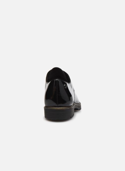 Chaussures à lacets Tamaris Calista Noir vue droite