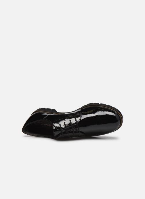 Chaussures à lacets Tamaris Calista Noir vue gauche