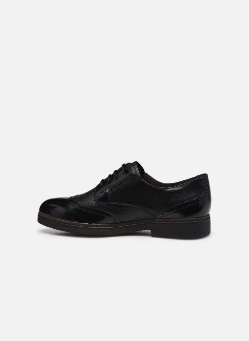 Zapatos con cordones Tamaris Yumi Negro vista de frente