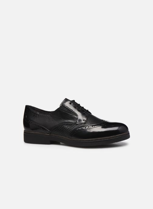 Zapatos con cordones Tamaris Yumi Negro vistra trasera