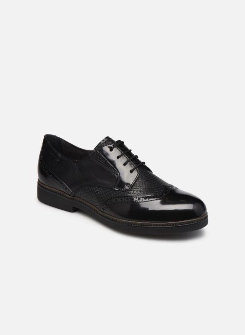 Zapatos con cordones Tamaris Yumi Negro vista de detalle / par