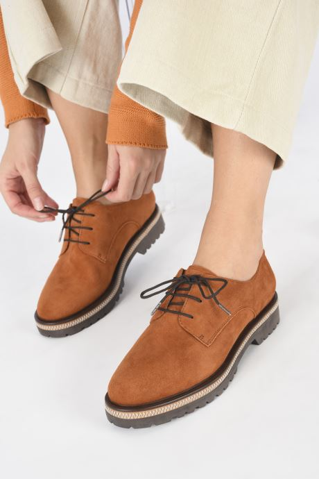 Zapatos con cordones Tamaris Lewia Naranja vista de abajo