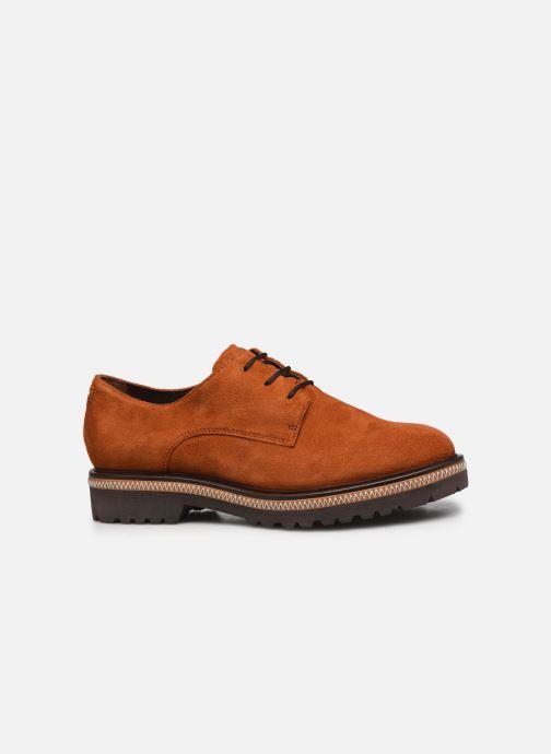 Zapatos con cordones Tamaris Lewia Naranja vistra trasera