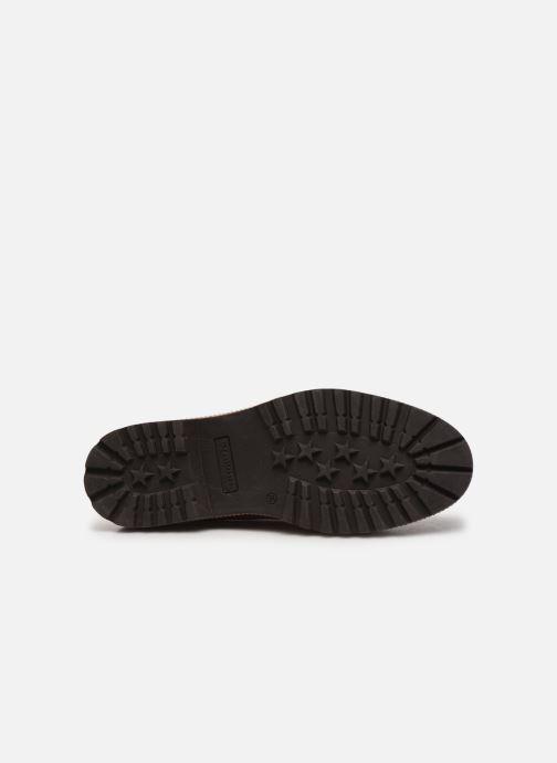 Zapatos con cordones Tamaris Lewia Naranja vista de arriba