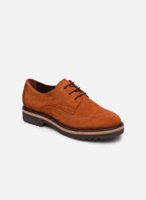Zapatos con cordones Tamaris Lewia Naranja vista de detalle / par