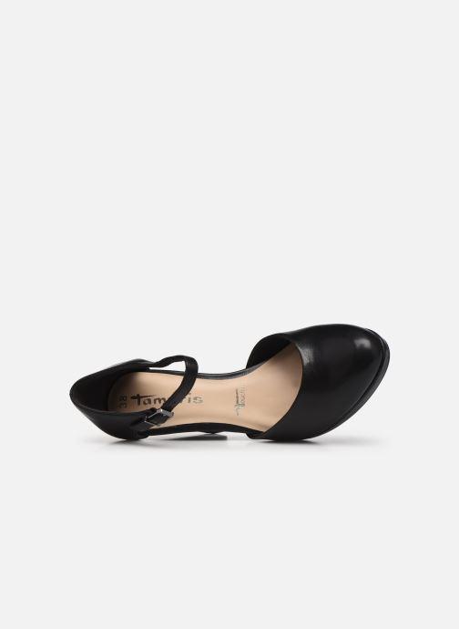 Zapatos de tacón Tamaris Tsipa Negro vista lateral izquierda