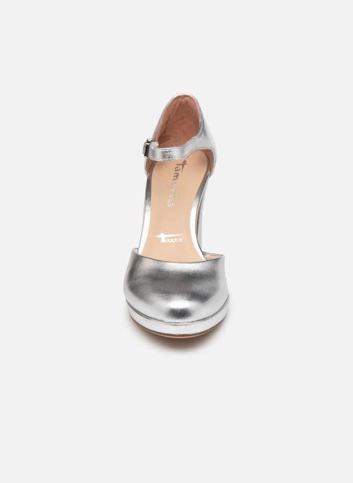 Zapatos de tacón Tamaris Tsipa Plateado vista del modelo