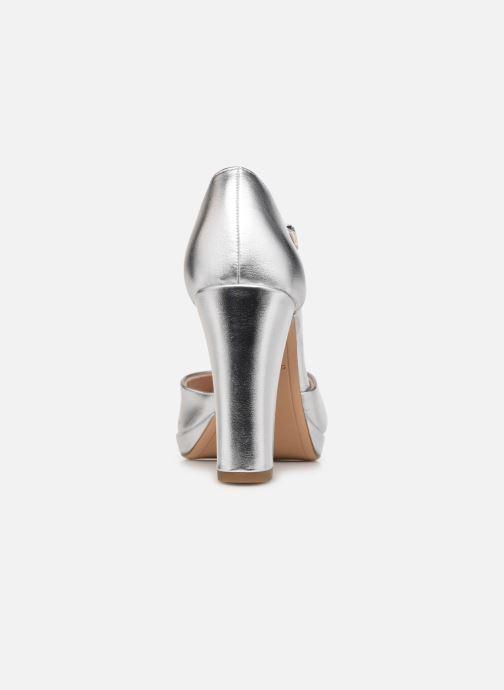 Zapatos de tacón Tamaris Tsipa Plateado vista lateral derecha