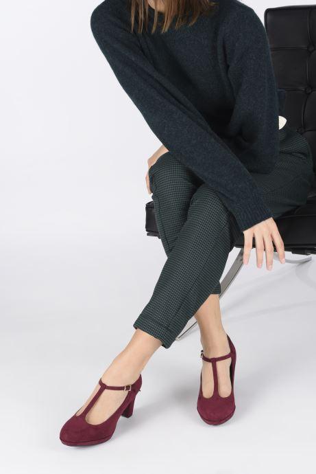Zapatos de tacón Tamaris Anabella Vino vista de abajo