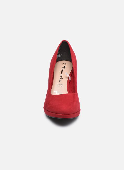 Escarpins Tamaris Zouai Rouge vue portées chaussures