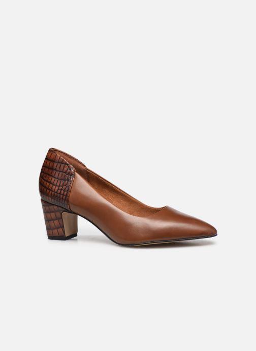Zapatos de tacón Tamaris Clelie Marrón vistra trasera