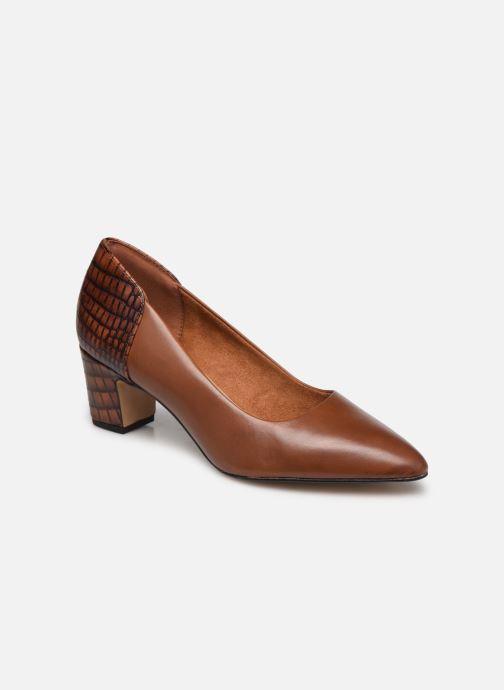 Zapatos de tacón Tamaris Clelie Marrón vista de detalle / par
