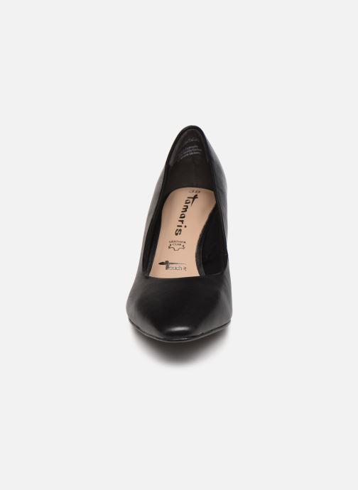 Escarpins Tamaris Therese Noir vue portées chaussures