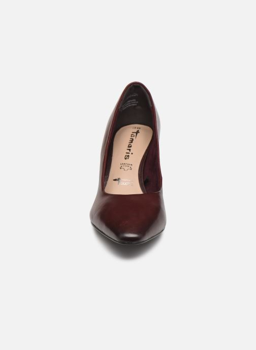 Zapatos de tacón Tamaris Therese Vino vista del modelo