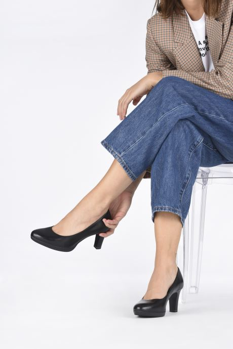 Zapatos de tacón Tamaris Shayla Negro vista de abajo