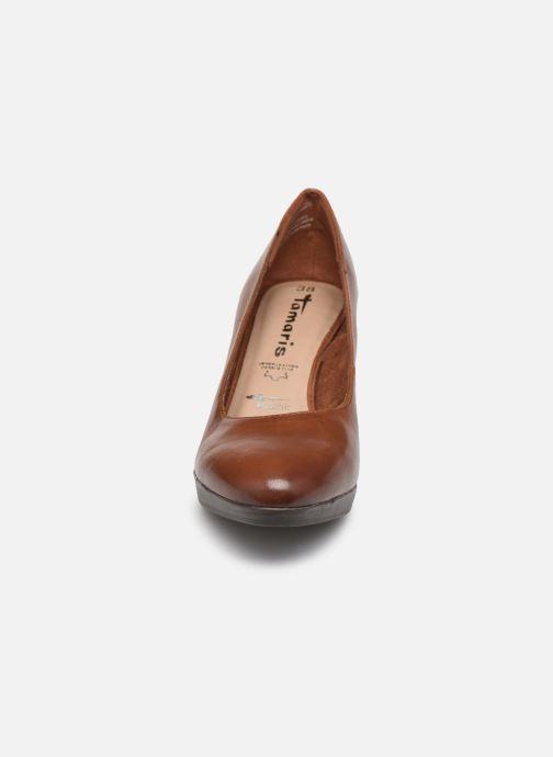 Escarpins Tamaris Shayla Marron vue portées chaussures