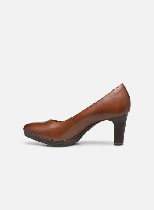 Zapatos de tacón Tamaris Shayla Marrón vista de frente