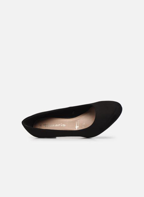 Zapatos de tacón Tamaris Georgia Negro vista lateral izquierda