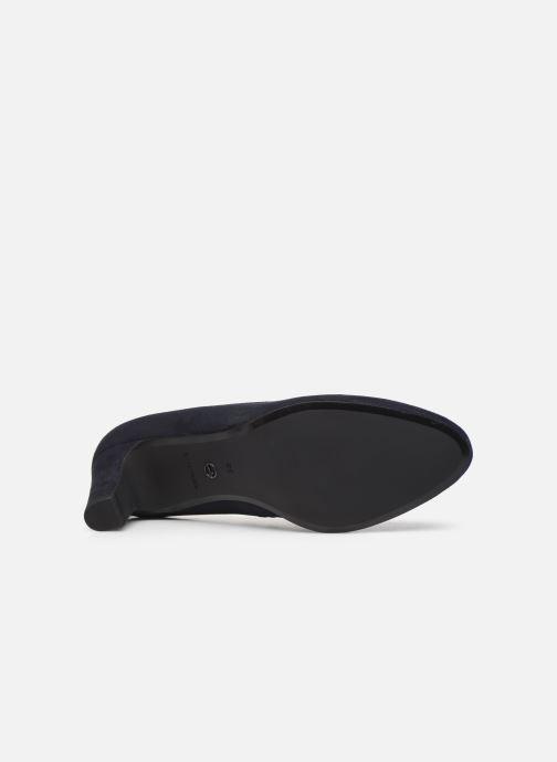 Zapatos de tacón Tamaris Georgia Azul vista de arriba