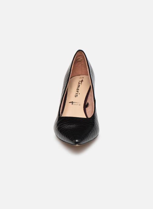 Escarpins Tamaris Falone Noir vue portées chaussures