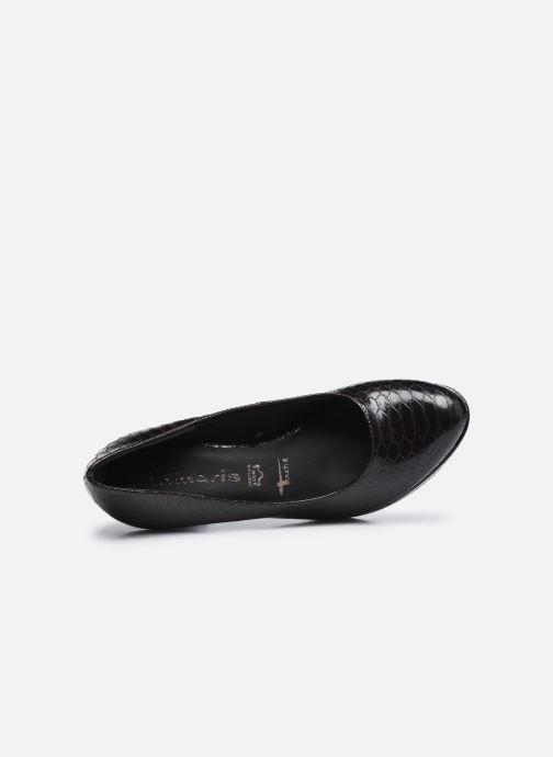 Zapatos de tacón Tamaris Tesnime Marrón vista lateral izquierda
